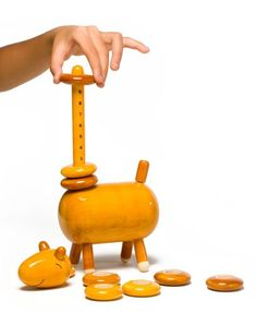 Gween Zarafu Wooden Counting Toy: Toys & Games