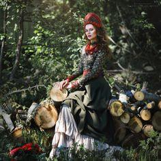 Russian folklore. Margarita Kareva photography