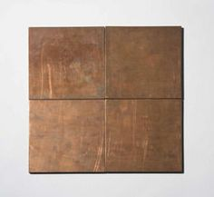 Carl Andre (b. Copper Square copper, in four parts each: x 6 x x 15 x overall: x 12 x x 30 x Executed in 1976 Antique Interior, Art For Sale, Statues, Modern Art, Cool Art, Copper, Auction, Artsy, Sculpture