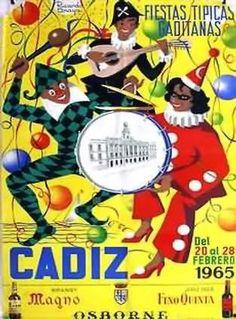 Carteles de carnaval de cadiz