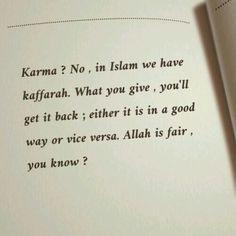 islam, karma, and allah image Beautiful Quran Quotes, Quran Quotes Inspirational, Quran Quotes Love, Karma Quotes, Reminder Quotes, Self Reminder, Islamic Love Quotes, Reality Quotes, Words Quotes