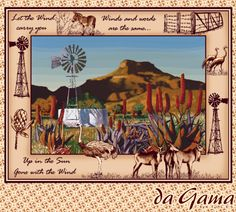 An African Story Laser Art, Windmills, Weave, Landscapes, African, Textiles, Colours, Website, Inspired