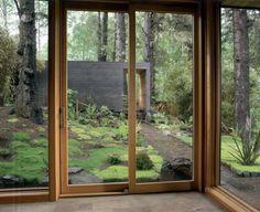 square; bungalow; full windows/walls