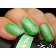 Get Pink Gellac 134 Minty Green gel nail polish colour at www.pinkgellac.co.uk