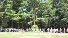 Video: The US flag is lowered at the Sunday Dress Parade at Camp Yawgoog on August 16, 2015.  The flag was at half-staff in honor of US Army First Sergeant Peter Andrew McKenna, a Rhode Island native who was killed in Afghanistan on August 7, 2015.  Recorded at Tim O'Neil Field by David R. Brierley.