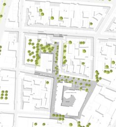 HPP Selected to Redesign Cologne's University of Music and Dance,Site Plan. Image © HPP Architects