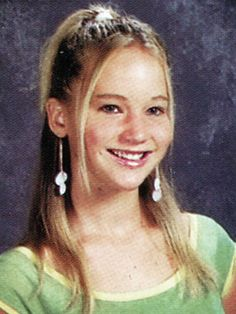 Jennifer Lawrence's Yearbook Photo!