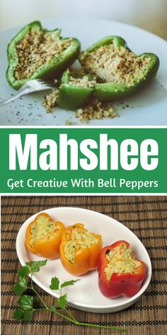 ✅ Think no more, there's mahshee or mahshi waiting to be made. Side Dish Recipes, Asian Recipes, Ethnic Recipes, Amazing Recipes, Great Recipes, Food Film, Weird Food, Kitchens