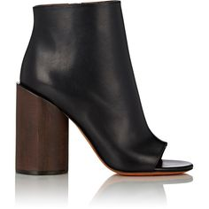 Givenchy Women's Edgy Line Ankle Boots (81.280 RUB) ❤ liked on Polyvore featuring shoes, boots, ankle booties, ankle boots, colorless, short boots, high heel ankle boots, high heel boots, short black boots and black ankle boots