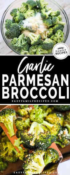 Garlic Parmesan Roasted Broccoli · Easy Family Recipes Absolute BEST side dish ever! Garlic Parmesan Roasted broccoli is the perfect combination of healthy and delicious! This is one vegetable that I never get tired. Low Carb Side Dishes, Veggie Side Dishes, Healthy Side Dishes, Vegetable Sides, Broccoli Dishes, Rice Dishes, Broccoli Recipes Side Dish Healthy, Keto Broccoli Recipe, Gluten Free Sides Dishes