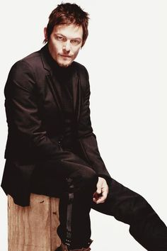 #3 Norman Reedus (just had to put a second photo of Norm in here, he's just too good to look at - I <3 you, Norman!)