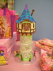 great Tangled tower cake