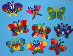 Symmetrical butterfly craft