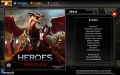 We are extremely proud to see names of our best artists in Heroes of Dragon Age credits! The game is out on iOS & Android since early December and doing well! Cheers to Sperasoft Art Department for great work in 2013!