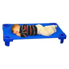 Pk stackable kiddie cot toddler rta from honor roll childcare supply