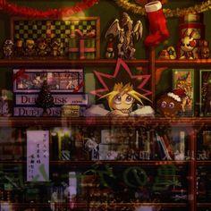 Tags: Anime, Yu-Gi-Oh!, Christmas, Kuriboh, Store, Stuffed Character, Merchandise