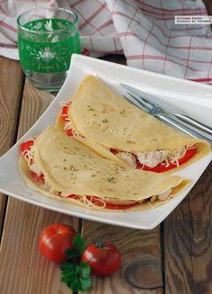 Vegetarian Recipes, Cooking Recipes, Healthy Recipes, Crepes Rellenos, Picnic Date, Tacos And Burritos, Healthy Salads, Empanadas, Tapas