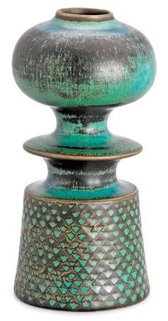 STIG LINDBERG Vase, Gustavsberg studio 1962.