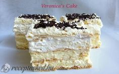 Recept: Nem is csoda, hogy bronzérmes lett egy sütiversenyen! Ital Food, Hungarian Recipes, Hungarian Food, Cake Bars, Pastel, Sweet And Salty, Cake Cookies, Vanilla Cake, Nutella