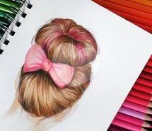 Inspiring image bow, drawing, draw, hair, collors, girl, brown, pink #1947272 by patrisha - Resolution 306x306px - Find the image to your taste