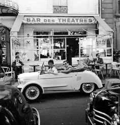 Get On This Classic Ride And Check Out These Offbeat Vintage French Photographs