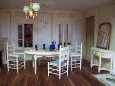 dollhouse miniature dining room