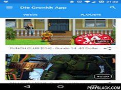 """Die Gronkh App  Android App - playslack.com ,  Herzlich Willkommen zur inoffiziellen GronkhApp für Android!Was dich erwartet:- Alle YouTube Videos und Playlists des Gronkh Hauptchannels, GronkhTV und GronkhRPG an einem zentralen Ort, mit dem integrierten Youtube Player einfach abspielbar.- Statusbar Benachrichtigungen beim Erscheinen eines neuen Videos und beim Start eines Twitch-Livestreams. Du willst nur Benachrichtigungen von neuen """"The Forest"""" Videos? Klar, das geht!- Youtube Login…"""
