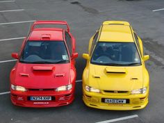 #Subaru #GC8 Chassis, #rally #cars, or just a badass #22B pair?