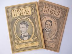 Vintage Health Heroes 1920s Booklet Pair by jenscloset on Etsy