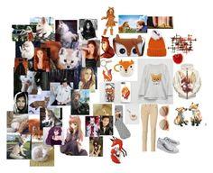"""Fox"" by anjela-02 on Polyvore featuring мода, Eugenia Kim, Full Tilt, Fox, Adrienne Landau, Folklore Nina Jarema, Brewster Home Fashions, M&Co, maurices и Lauren Ralph Lauren"