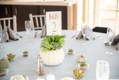 Blue Fall Wedding Inspiration - Las Vegas Wedding Fall Wedding Decorations, Wedding Themes, Wedding Venues, Something Blue Bridal, Succulent Centerpieces, Lakeside Wedding, Las Vegas Weddings, Wedding Planning Tips, Autumn Wedding