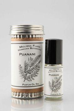 perfume Melissa Flagg Hawaiian Botanicals Roll-On Perfume - Urban Outfitters
