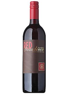 Red Decadence Chocolate Wine... can you say tootsie roll? How wonderful :)