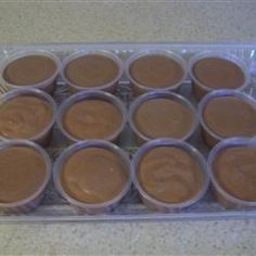 Pudding Shots made with Bailey's & vodka . . . Yum!  I used vanilla vodka.  They never had the mousse consistency . . . even after keeping them in the freezer . . but who cares!  I will definately make them again and try banana cream pudding and maybe vanilla.