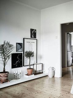 Love This Idea Of A Super Low Display Bench To Fix An Awkward Space In The  House.   ChrySSa Home Decor Ideas