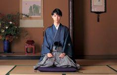 Yuzuru Hanyu (Yuduru Hanyu) / figure skater. Men's kimono ( Haori Hakama ).