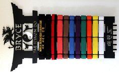 Karate Belt Display: Martial Arts Belt Display: Taekwondo Belt Rack – Best on the Planet: Karate Belt Display: Martial Arts Belt Displays