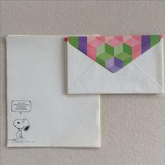 Vintage Snoopy Briefpapier / letter set