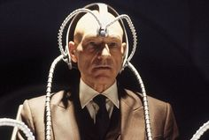 """Cerebro, originally referred to as an """"E.S.P. machine"""" is a helmet+chair+computer program later explained as a device for amplifying psychic's mutant's powers. Used most often as a way of tracking down a particular mutant's energy signature. Cerebro is a female artificial intelligence, like the VALIS, like, female A.I., that Beast finds himself a companionship with, in Apocalypse's techno-organic space-ship. Another female artificial intelligence is that of Apocalypse's construction..."""