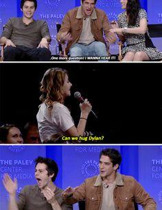 Cam we hug Dylan Stiles Teen Wolf, Teen Wolf Mtv, Teen Tv, Teen Wolf Dylan, Teen Wolf Cast, Teen Wolf Memes, Teen Wolf Funny, Stydia, Sterek