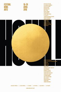 Design - black and gold