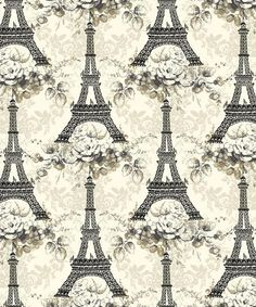 Penelope Eiffel Tower LH11054 Eiffel Tower by by sewinthemood1, $10.95