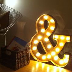 Vintage marquee lights by Everyday Art | via Fab.com