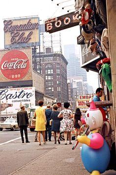 West 46th St., New York City, 1971.