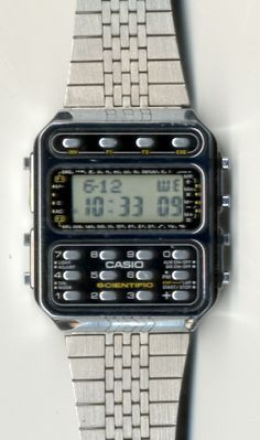a7d8cdbdec7 CASIO CFX-400. This is the metal cased version of the Casio CFX-40 ...