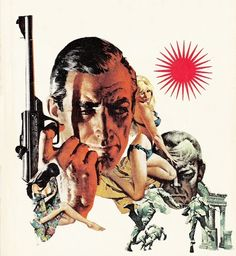 vintagecoolillustrated: 007 art by Frank C. McCarthy (via ) James Bond Images, James Bond Books, Movie Poster Art, Film Posters, Art Posters, Science Fiction Art, Pulp Fiction, Mad Max Book, James Bond Party
