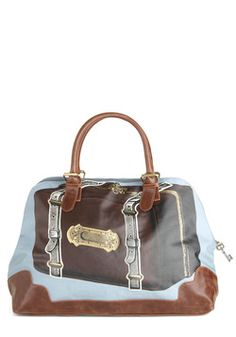 Just in Suitcase Overnight Bag, #ModCloth