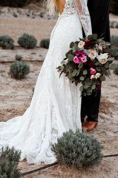 Bridal Bouquet:: Photographer: A Nomadic Love I Flowers: Moss Floral Design I Gown: Madeline Gardner
