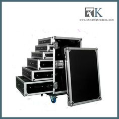 Divided Drawers Road Flight Case