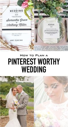 How to plan a Pinterest-worthy wedding while keeping your budget and your samity intact by Virginia rustic wedding photographer Mollie Tobias Photography.